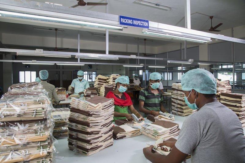 linen manufacturing process