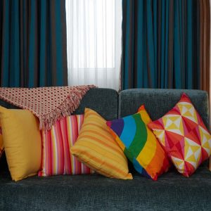 buy living linen and cushion