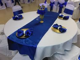 Decoration with Table linen