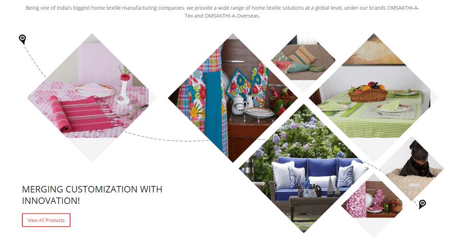textile manufacturing companies